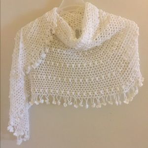 Accessories - Hand knitted shawl